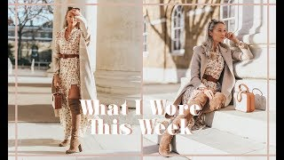 WHAT I WORE & DID THIS WEEK // Weekly Vlog