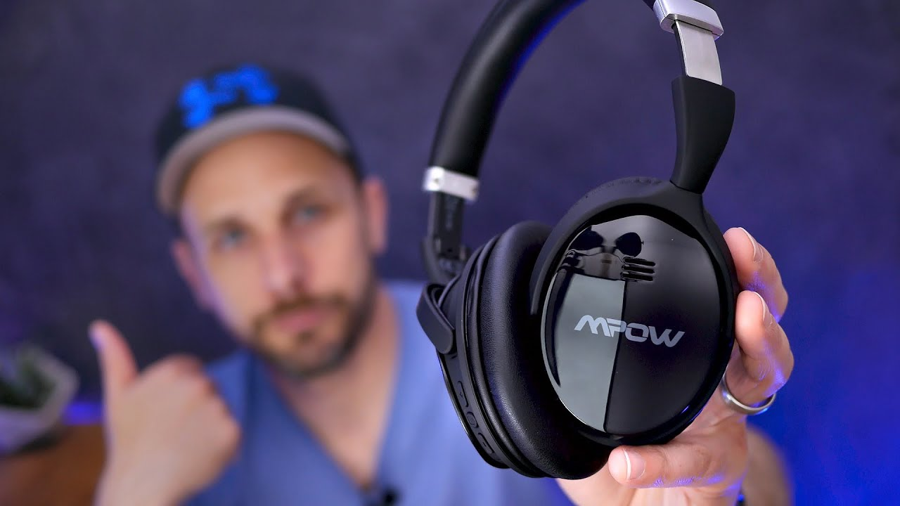 42aef4d006f Mpow H5 Noise Cancelling Headphones Super Review - YouTube