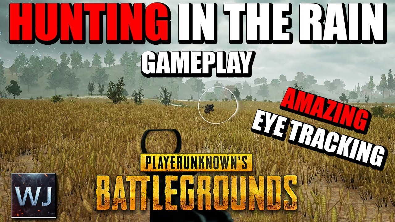 GAMEPLAY: Hunting In The Rain With EYE TRACKING In