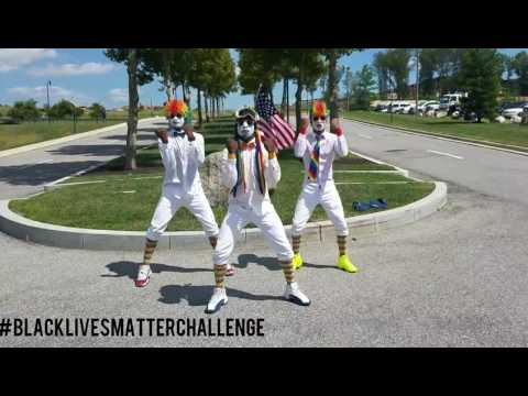 BLACK LIVES MATTER CHALLENGE by @freshtheclowns #blacklivesmatterchallenge (ROC DANCE)