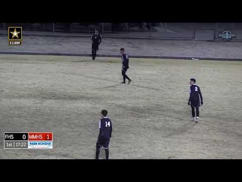 Boys Soccer Foothill at Mira Monte