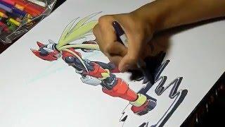 Drawing Zero Playmat