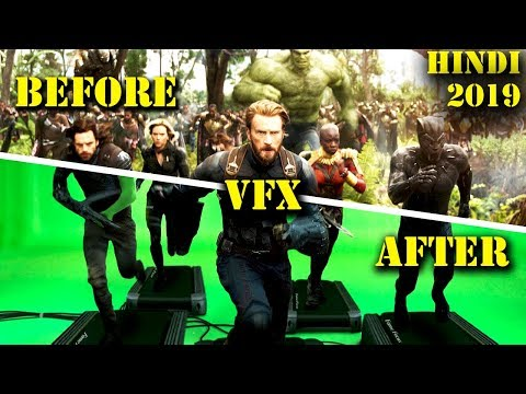 फिल्मों के 5 सबसे बेहतरीन Special Effects | 5 Amazing Before And After Special Effects | Avengers