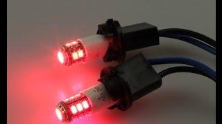 Лампа светодиодная задних габаритов Т10-8/1(12/1) red
