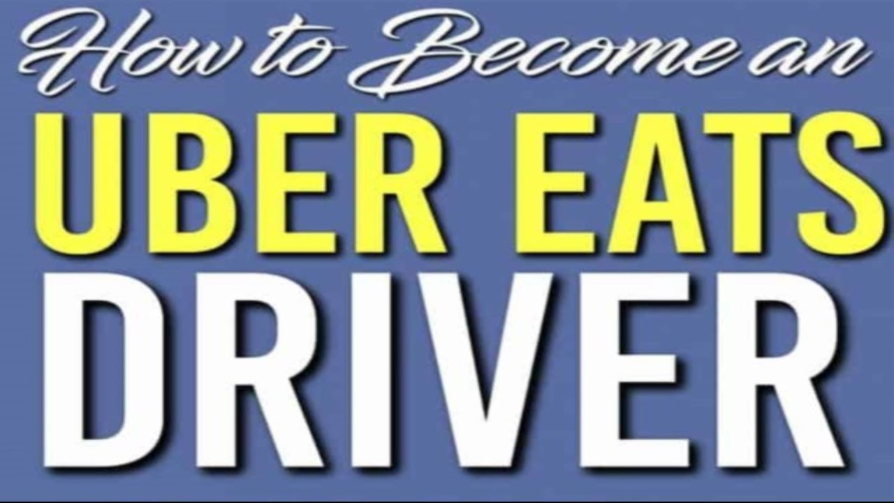 become an uber eats driver