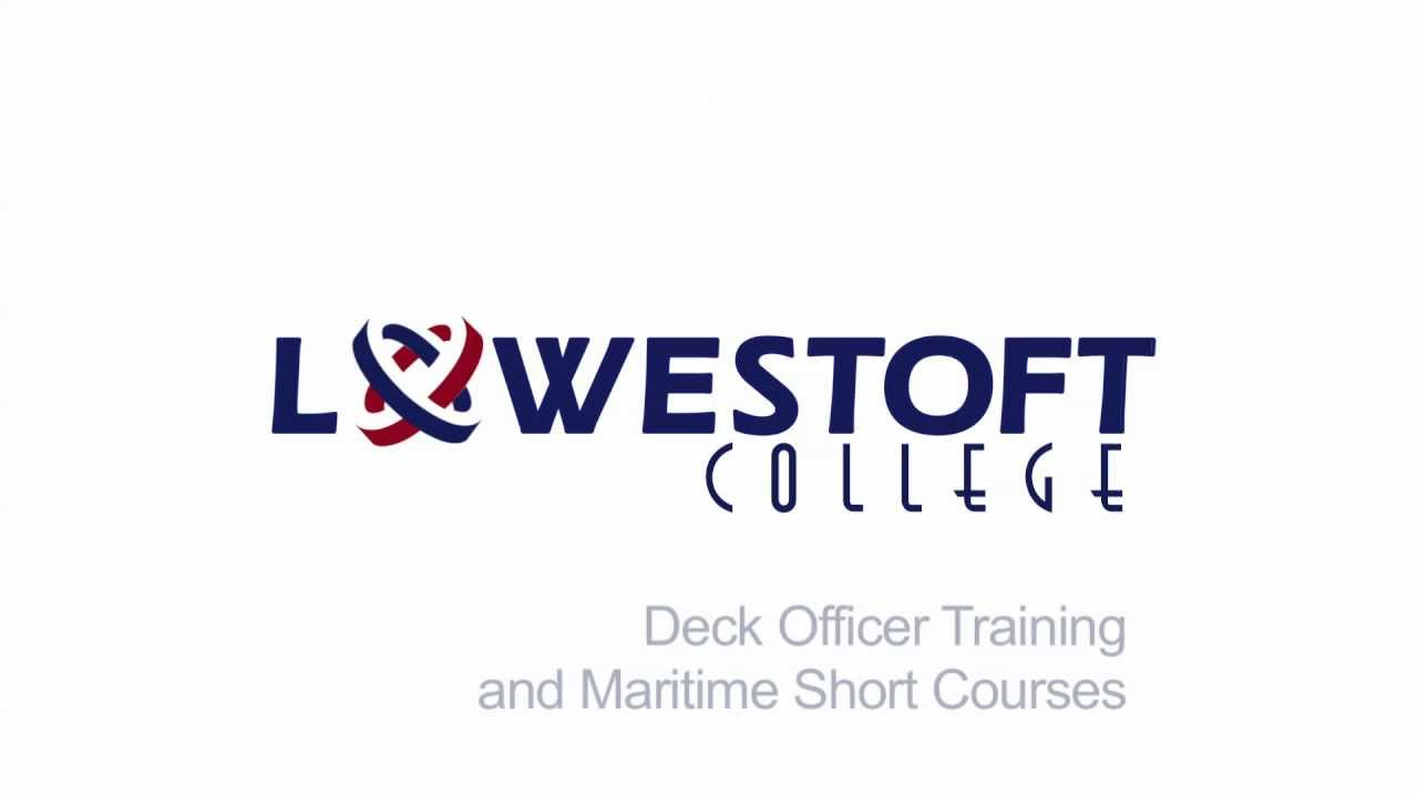 Lowestoft College Deck Officer & Dynamic Positioning Training
