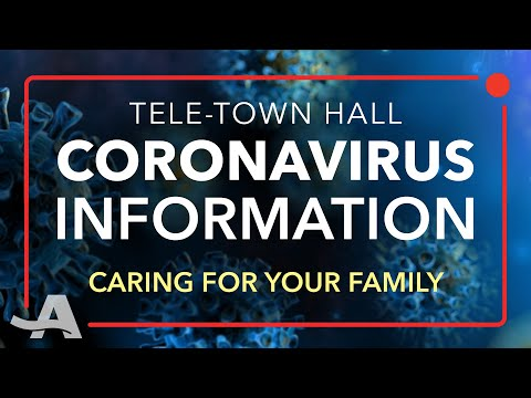 Live Q&A On Caring For Your Family During Coronavirus Pandemic | COVID-19