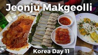 Jeonju Makgeolli - Best SOUTH KOREAN FOOD Experience! (Day 11)