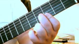 Lær at spille Stop den lille kænguru på guitar m. arpeggio