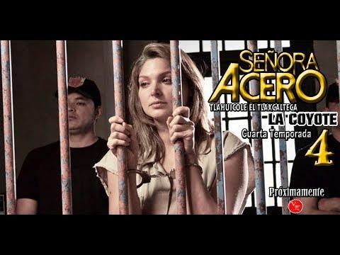 Blanca Soto regresa en Señora Acero 4 La Coyote estaba en la carcel