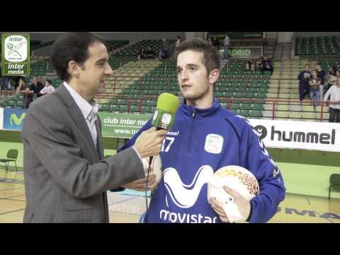 Pablo Mel (Inter Movistar). El Post partido de InterMedia TV