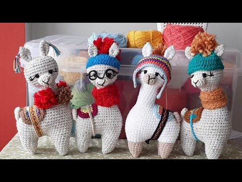 Bobble Stitch tutorial | Amigurumi Alpaca - YouTube | 360x480