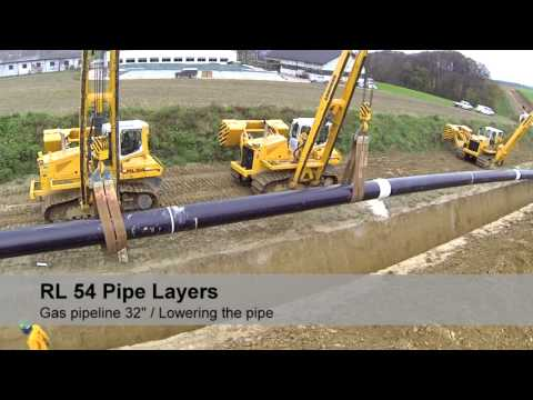 Liebherr - Pipelayer RL 54