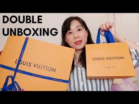 louis-vuitton-double-unboxing//hard-to-find-items//escale-collection