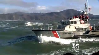 Coast Guard vs Giant Waves!