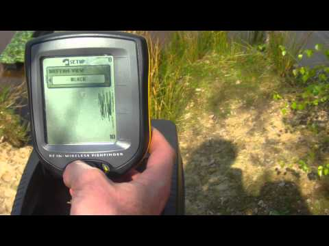 Humminbird RF15 Bait Boat Fish Finder Demo Video