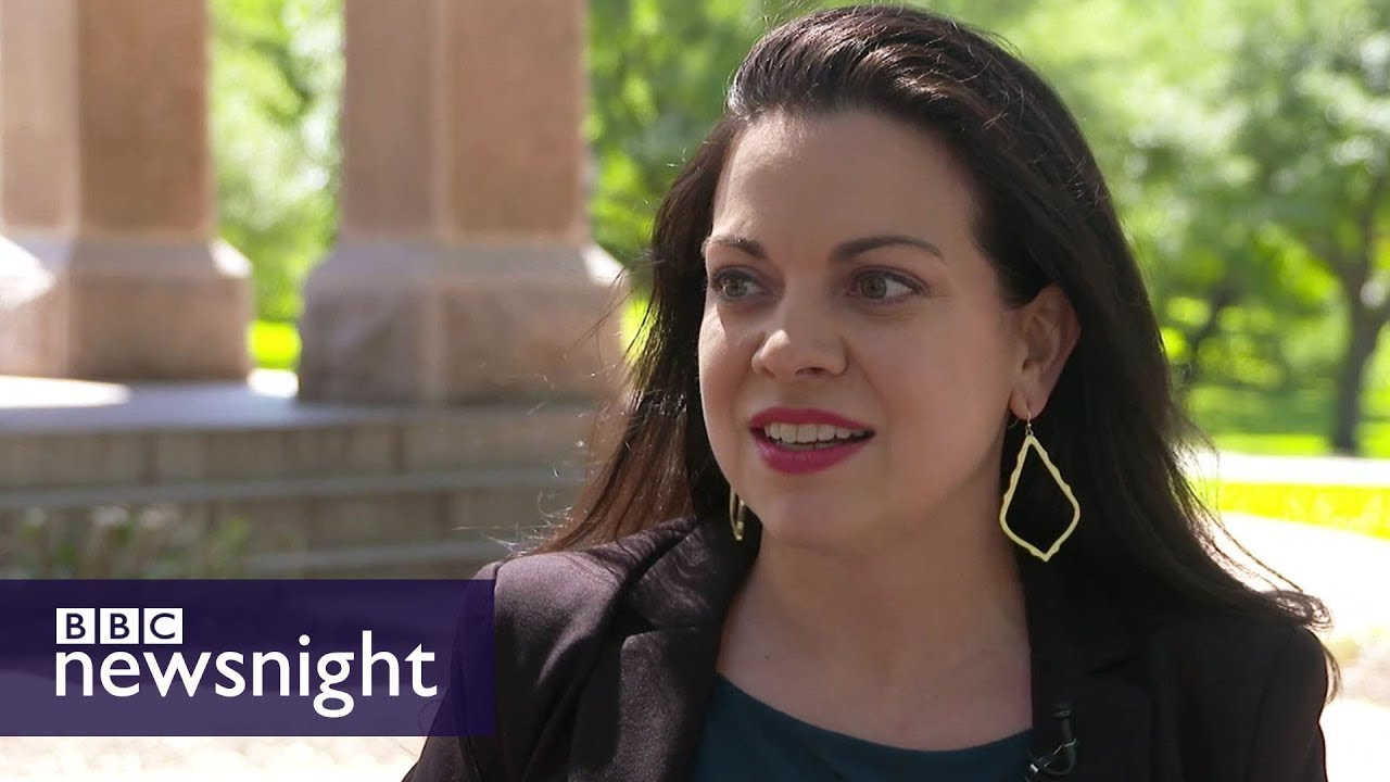 Women running for office in Texas – BBC Newsnight