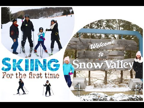 Snow Valley , Barrie First Ski Experience
