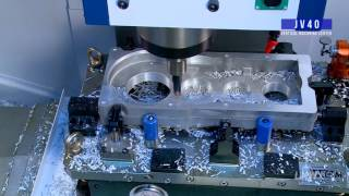 Cover images JV40 Vertical Machining Center