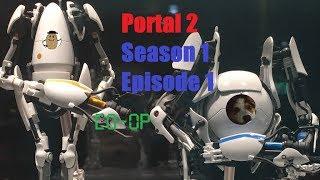 We are very Dumb | Portal 2 Season 1 Eps 1 /w Hyjack