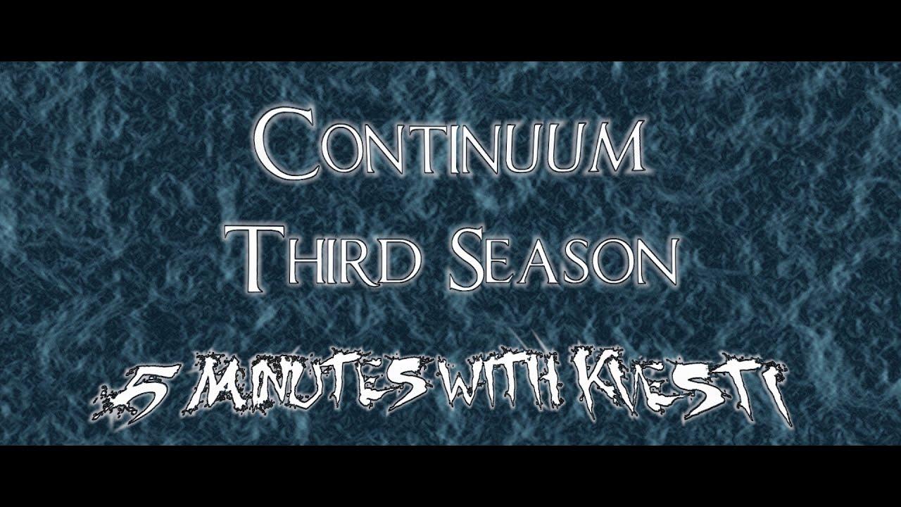 Download Continuum: Third Season - 5 Minutes with Kvesti