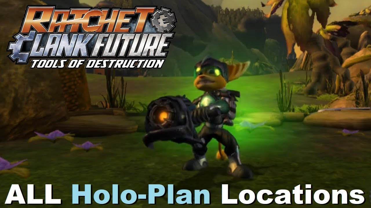 Ratchet Clank Future Tools Of Destruction All Ryno Iv Holo