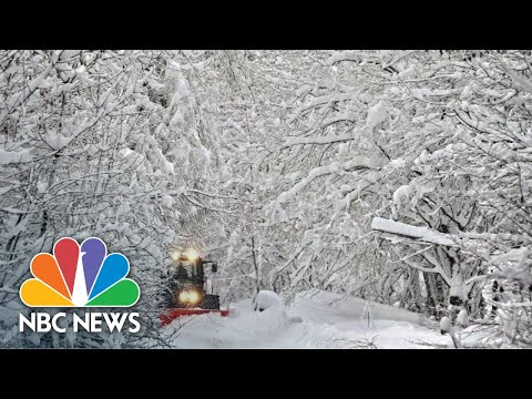 Winter Weather Wallops Europe With Plunging Temps And Heavy Snow | NBC News