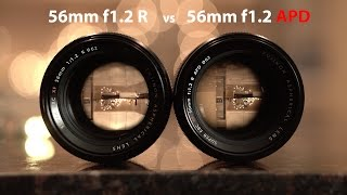 Is it worth it to get the Fujifilm xf 56mm f1.2 APD ? - in 4k