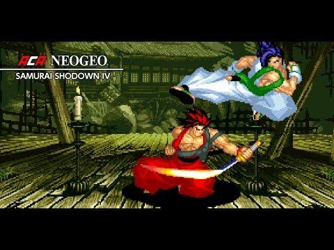 Aca NeoGeo Samurai Shodown IV - Gameplay - Xbox One