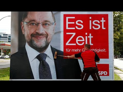 Schulz will 2. TV-Duell - YouTube