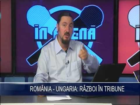 Romania - Ungaria, razboi in tribune! part 1
