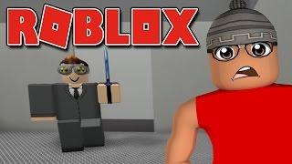 ROBLOX-Fleeing the murderer (Murder Mystery 2)