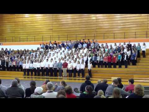 LPHS Choral Festival Finale 2-17-15