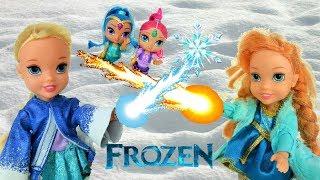 Elsa & Anna Toddlers! Anna gets FIRE Powers! Fun Adventure! Olaf Girl friend! Toys & Dolls! Frozen 2