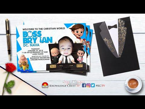 diy invitation ideas boss baby invitation for birthday christening kctv designs