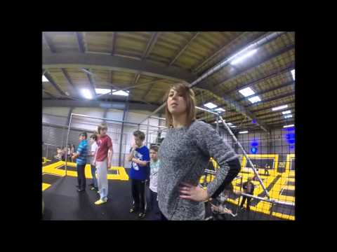 Gopro @ go air trampoline park Cardiff