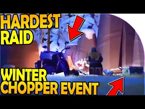 HARDEST RAID YET + NEW WINTER CHOPPER EVENT INBOUND - Last Day On Earth Survival Update 1.8.1