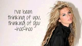 Kesha - Thinking Of You Lyric Video