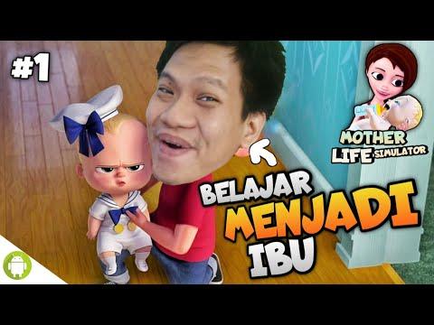 GAME WAJIB!! UNTUK ANAK2!!! MOM SIMULATOR Part 1 [SUB INDO] ~Game Perjuangan Ibu Merawat Anak!