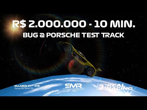 R$ 2.000.000 In 10 Minutes Bug @ Porsche Test Track (Long) Speed Record Event