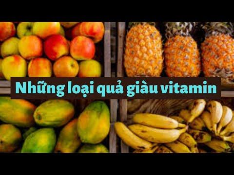 Những loại hoa quả giàu vitamin cần bổ sung cho cơ thể