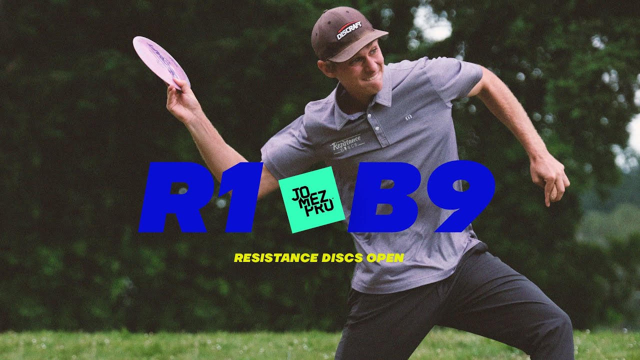 2021 Resistance Discs Open   R1B9 FEATURE   Sexton, Hammes, Callaway, Withers   Jomez