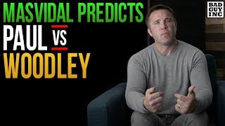 Jorge Masvidal predicts Tyron Woodley will KO Jake Paul...