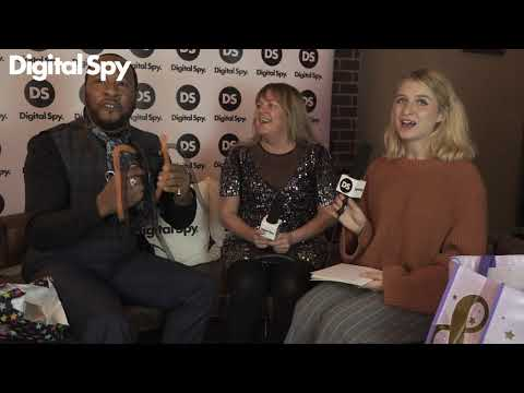 Digital Spy plays 'Trick or Treat' with Lorraine Stanley & Roger Griffiths