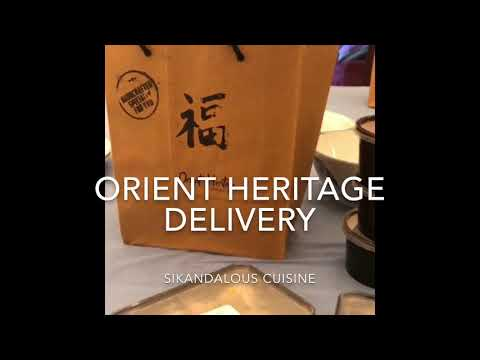 Orient Heritage Delivery #sikandalouscuisine