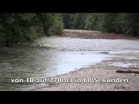 Emme Hochwasser / Anschuss 4. Juli 2012