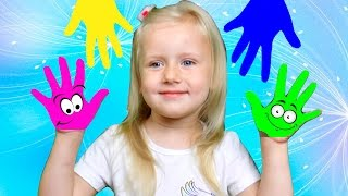 Learn Colors with Children Nursery Rhymes and Hand Body Paint for Babies | Kids Family Finger Songs