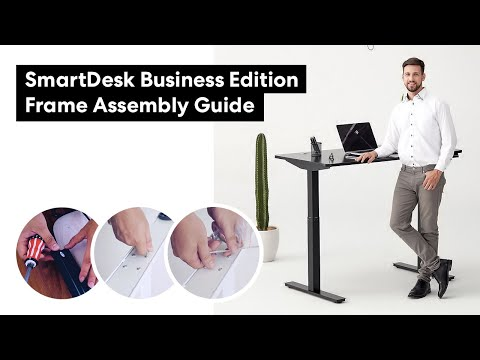 Autonomous SmartDesk 2, Business Edition Frame: Assembly Instructions Guide