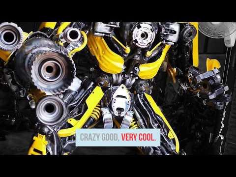 Amazing Creative Scrap Metal Art Designs | Repurpose Junk Metal Art Sculpture Ideas