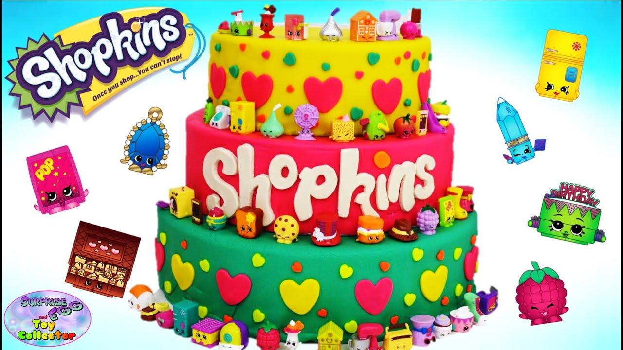 Shopkins Season  Cake